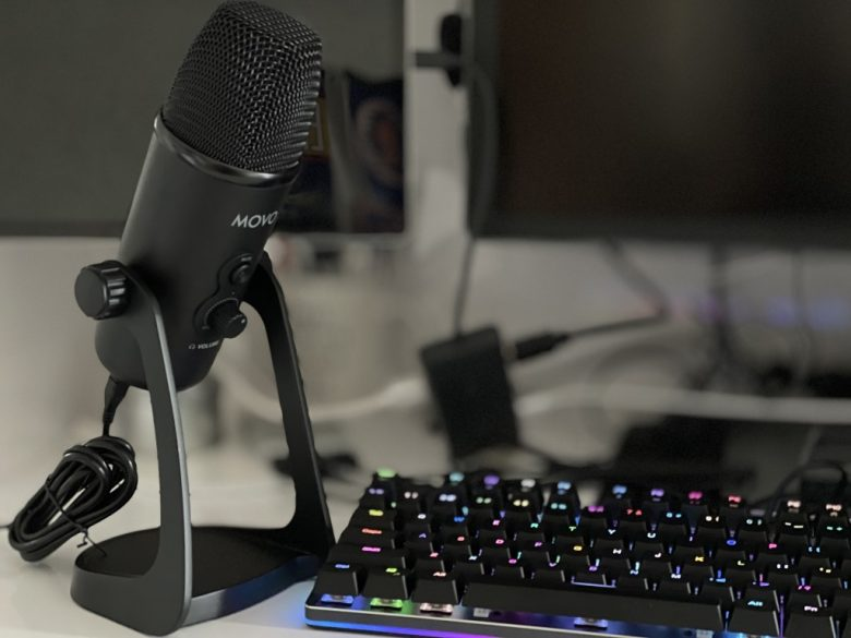Movo UM700 Desktop Studio Microphone Review: Taking on Blue Yeti & great for podcasting or Microsoft Teams calls