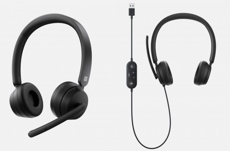 Microsoft modern usb and wireless headsets