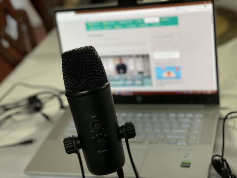 Movo Desktop Microphone With Onpodcast