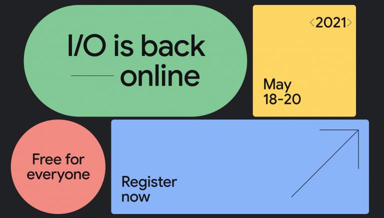 Google I/O 2021 Developer conference