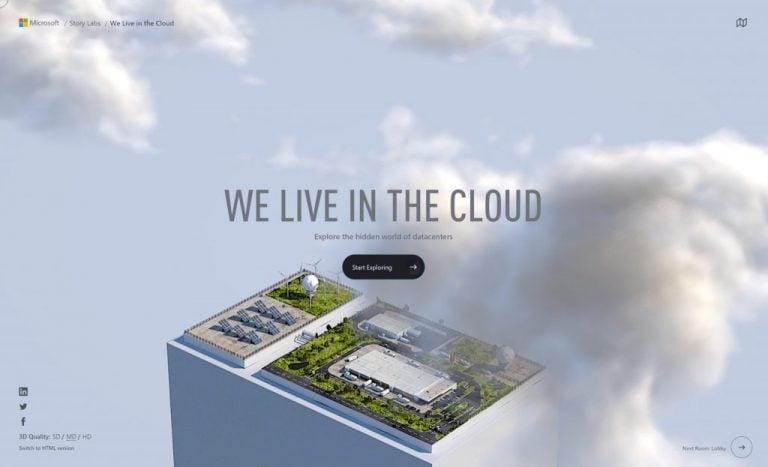 Microsoft datacenters virtual tour