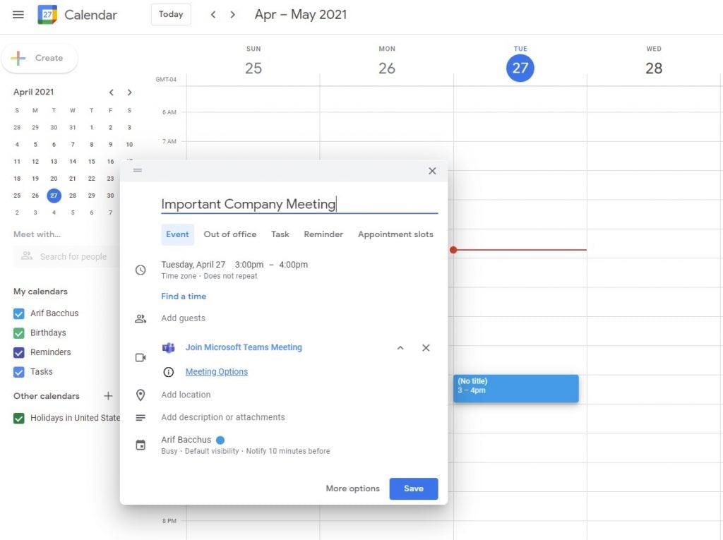 Teams Join Meeting Google