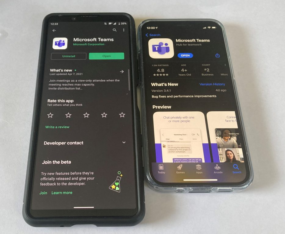 Block someone on Microsoft Teams ios Android
