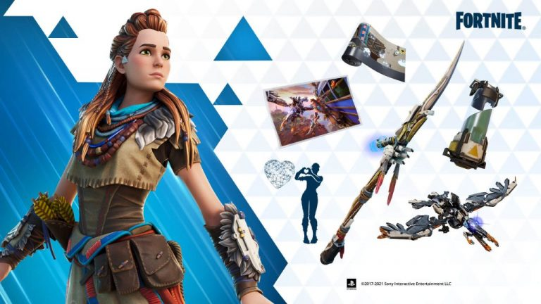 Horizon Zero Dawn Fortnite Items