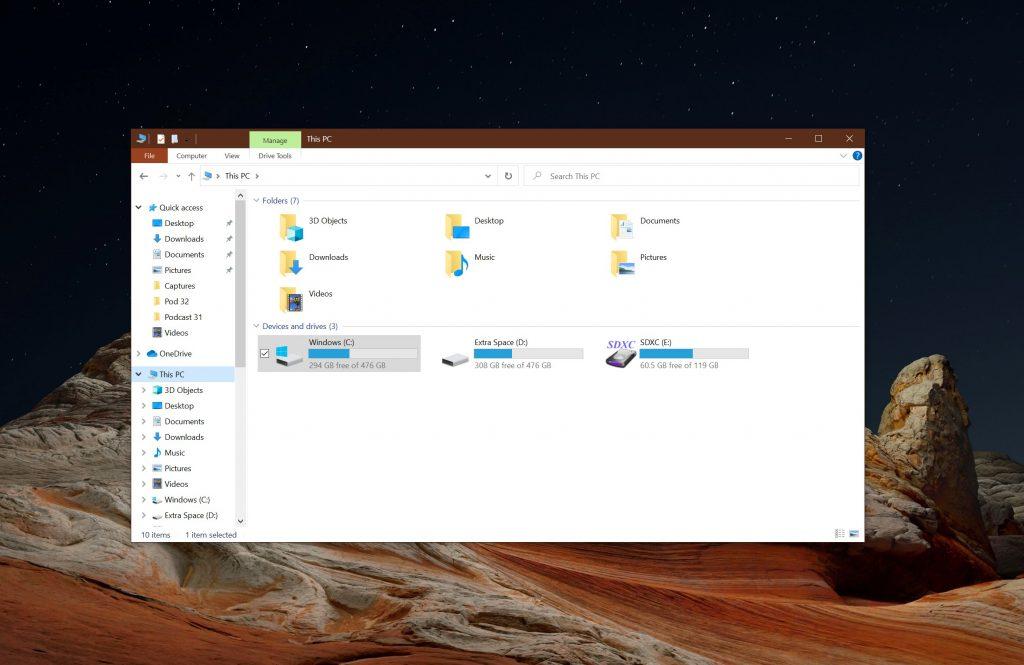 File Explroer