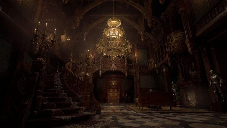 Resident evil village dimitrescu castle