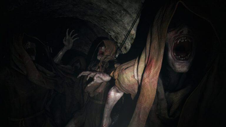 Resident evil village undead enemies