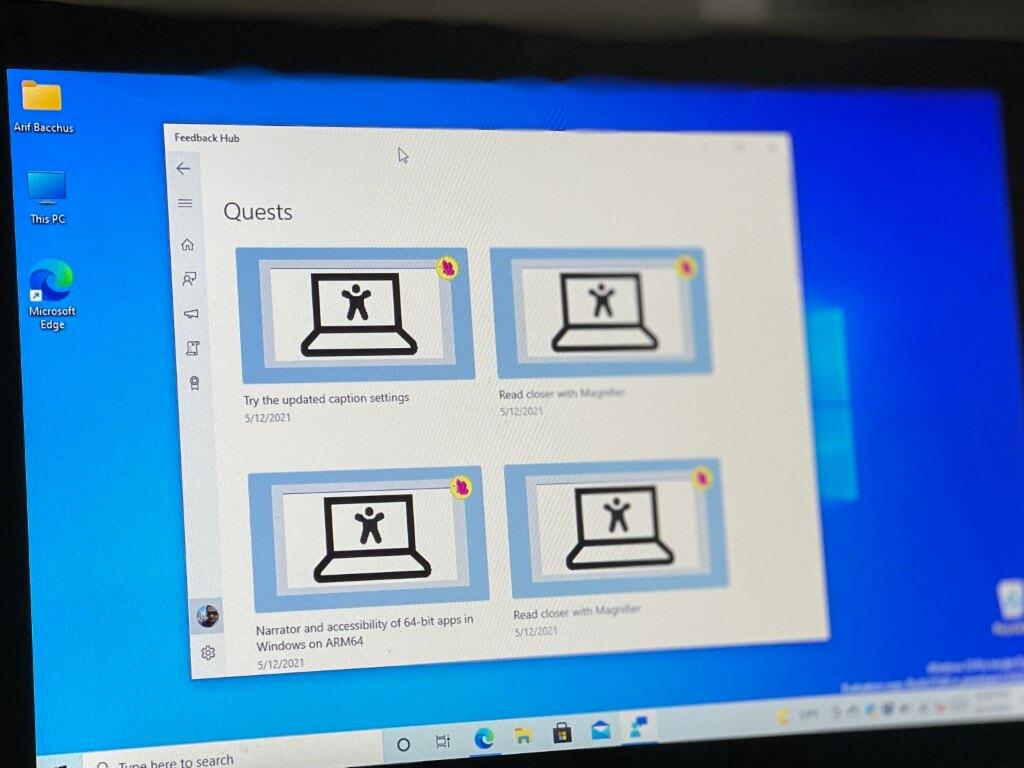 Windows insider bug bash 2021