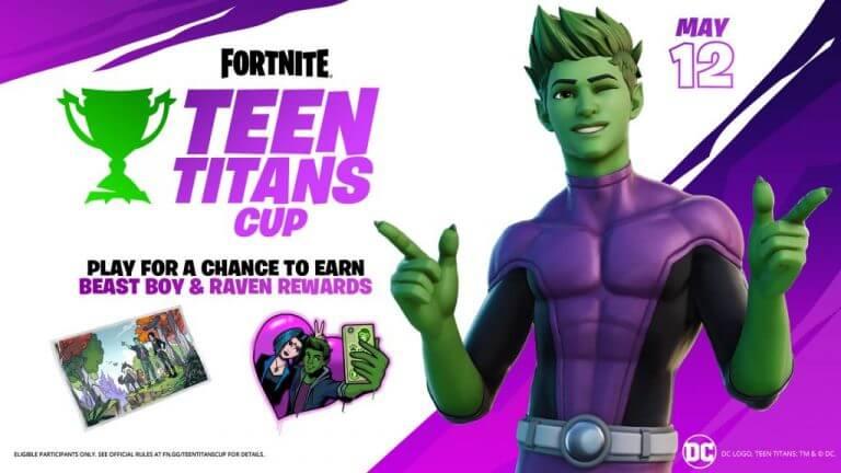 Coupe Fortnite Teen Titans