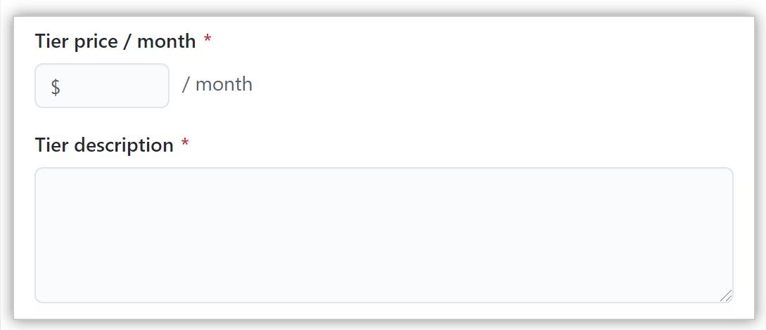 Tier price description