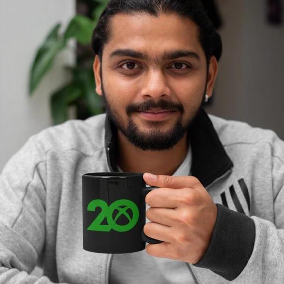 20th anniversary xbox mug