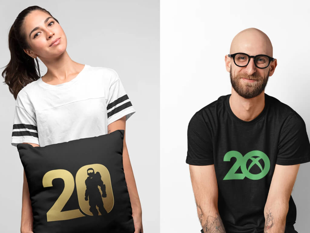 Xbox and Halo 20th anniversary merch
