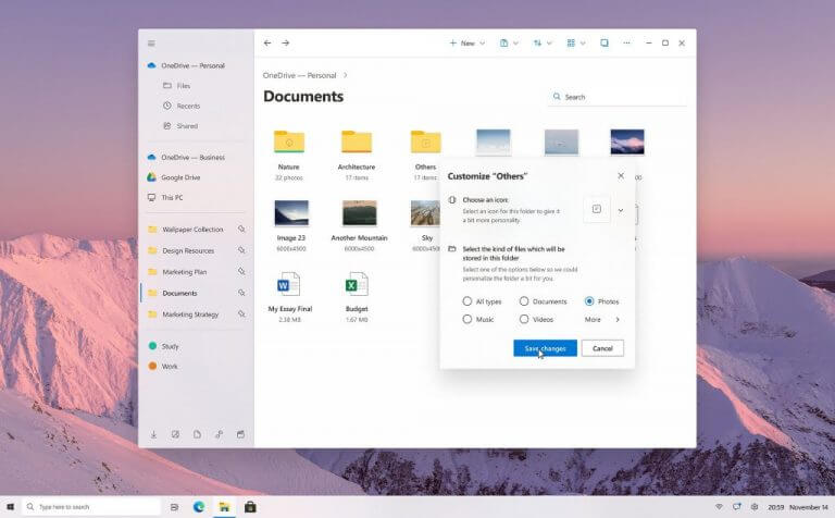Microsoft's long awaited file explorer upgrade makes a brief appearance - onmsft. Com - june 24, 2021