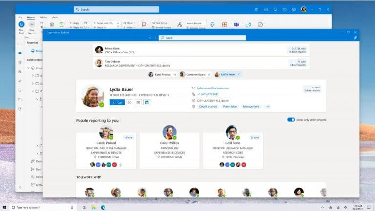 Microsoft posts screenshot of redesigned and as yet unreleased Outlook for Windows app OnMSFT.com June 1, 2021