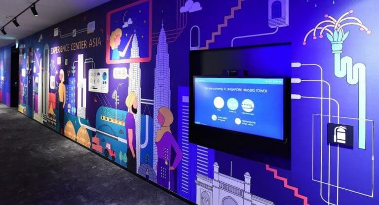 Microsoft experience center asia