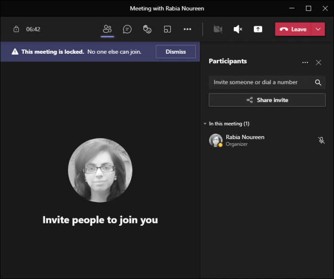Microsoft teams now lets organizers lock and unlock meetings at any time - onmsft. Com - july 8, 2021