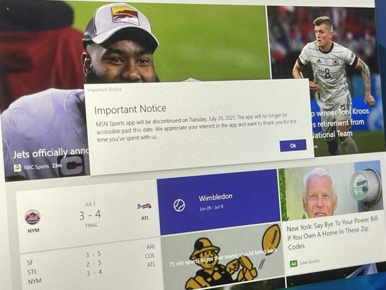 Windows news recap: tiktok for windows arrives in the microsoft store, msn sports app to be discontinued, and more - onmsft. Com - july 4, 2021