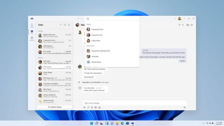 Windows 11's new teams for consumers app starts rolling out to insiders - onmsft. Com - july 20, 2021