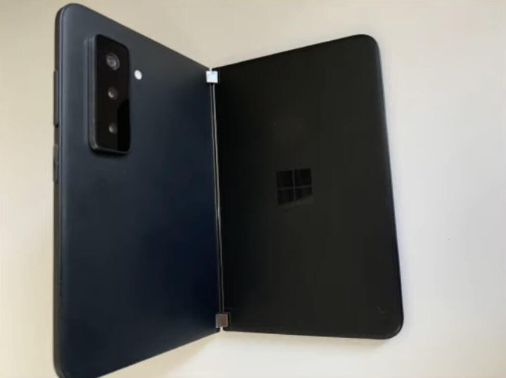 Microsoft's surface duo 2 will feature three rear cameras according to leaked pictures - onmsft. Com - july 26, 2021