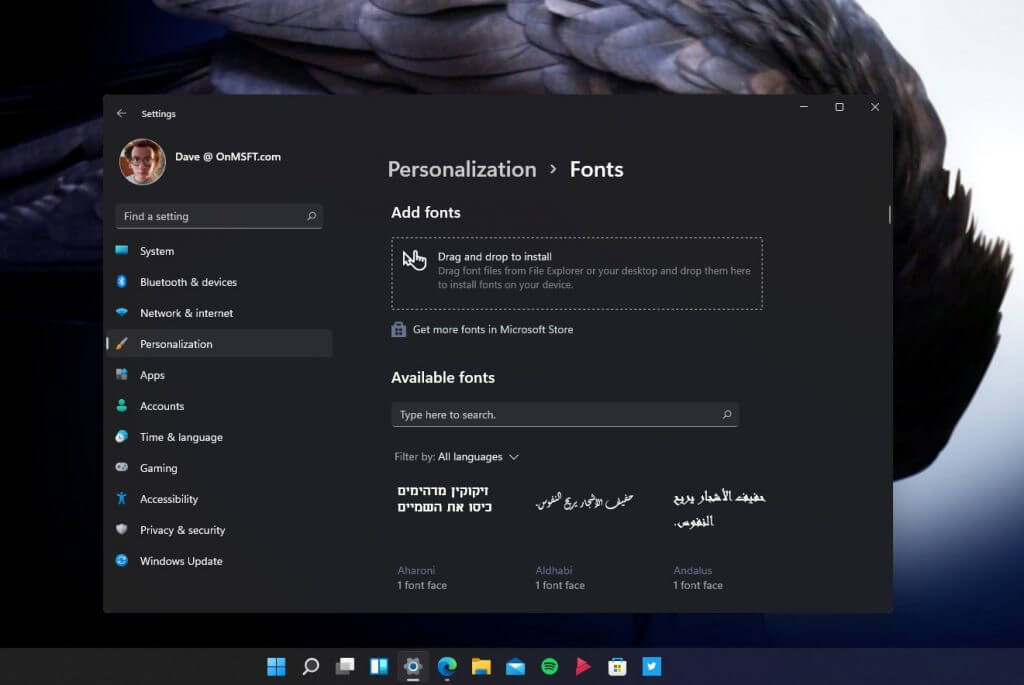 How to change your theme, colors, and more to make an awesome desktop experience on windows 11 - onmsft. Com - july 6, 2021