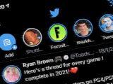 Fleets stories in the ios twitter app