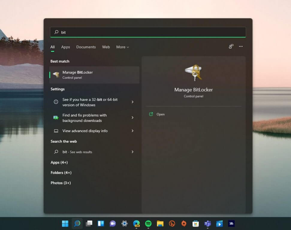 How to encrypt your hard drive quickly on windows 11 - onmsft. Com - august 10, 2021