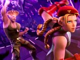 Street fighter's cammy and guile in fortnite video game on xbox and pc