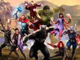 Marvel's avengers video game on xbox one and xbox series x.