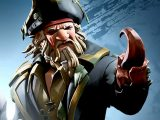 Davy jones in sea of thieves video game on xbox series x and windows pc