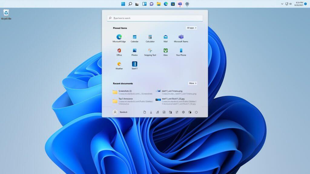 The next start11 update will bring more options to customize windows 11 in ways that microsoft won't let you - onmsft. Com - september 30, 2021