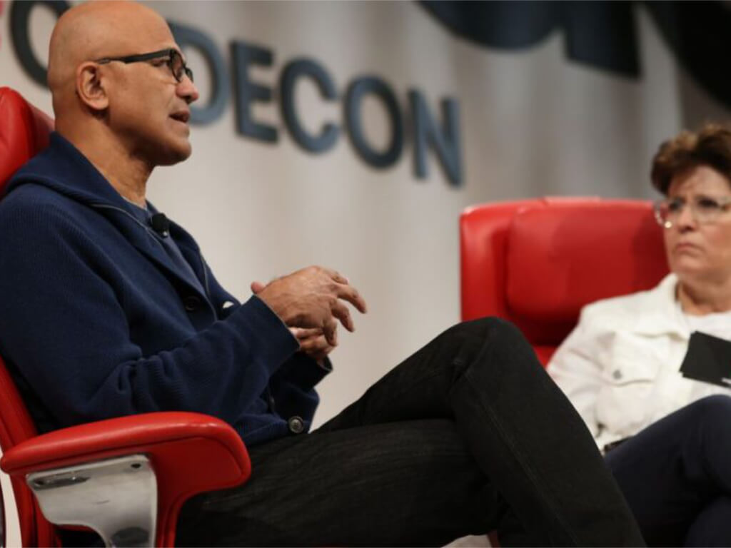 """Microsoft ceo satya nadella looks back on tiktok acquisition talks, """"the strangest thing i've ever worked on"""" - onmsft. Com - september 28, 2021"""