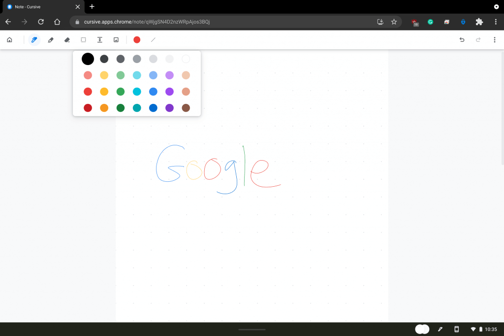 Hands-on: is google cursive really a microsoft onenote competitor? - onmsft. Com - september 15, 2021