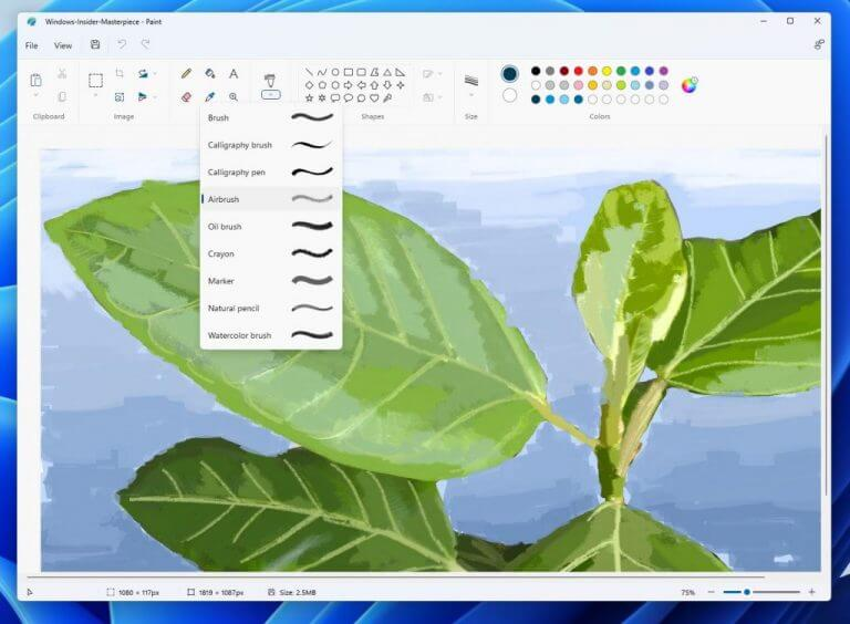 Microsoft begins rolling out redesigned windows 11 paint app to dev channel insiders - onmsft. Com - september 28, 2021