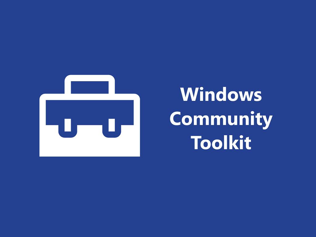 Windows-community-toolkit