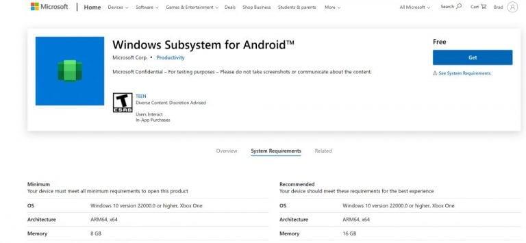 Amazon appstore in microsoft store