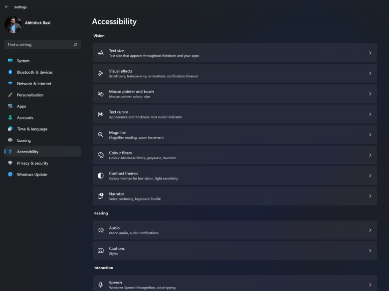 A quick guide to windows 11 accessibility