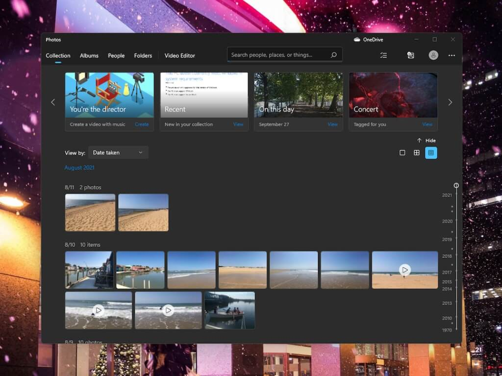 Redesigned photos app starts rolling out to more windows 11 testers - onmsft. Com - september 27, 2021
