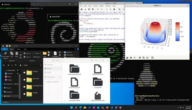 Windows subsystem for android.
