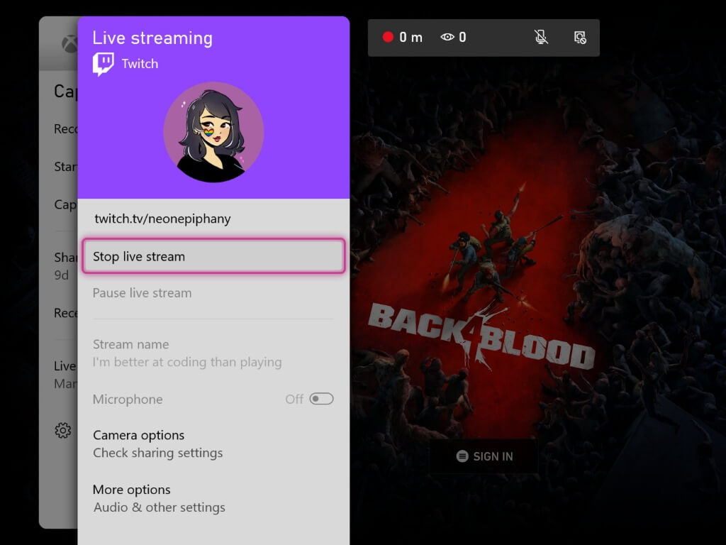 Xbox consoles are getting a built-in twitch live streaming experience - onmsft. Com - october 25, 2021