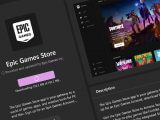 Epic games store in microsoft store on windows 11